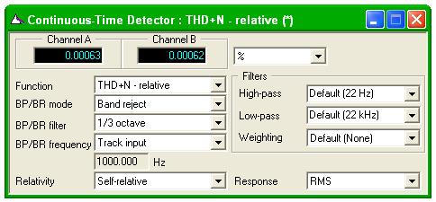 Continuous-Time Detector dialogue