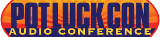 Potluck Audio Conference logo