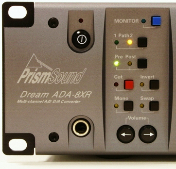 Prism Sound ADA-8XR front panel