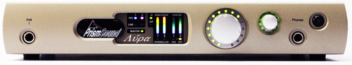 Lyra 1 recording interface front panel