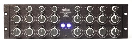MEA-2 equalizer front panel