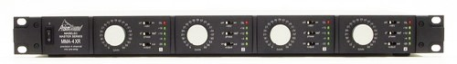 MMA-4XR front panel