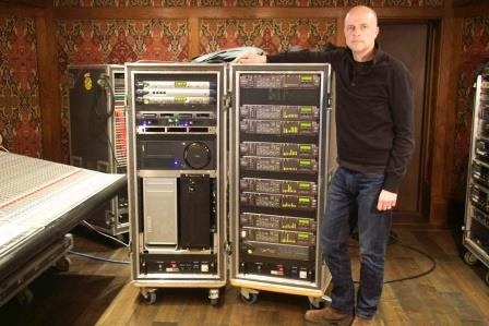 Donal Hodgson With Prism Sound Units
