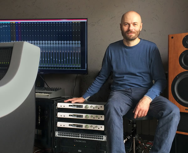 Prism Sound's Titan Brings Unbeatable Sound Quality to George Gvarjaladze's Project Studio