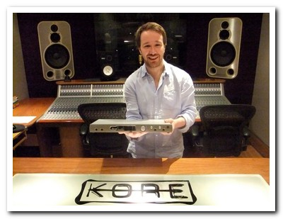 George Apsion at Kore Studios with Orpheus