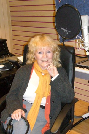 Petula Clark at Athanor Productions in Switzerland