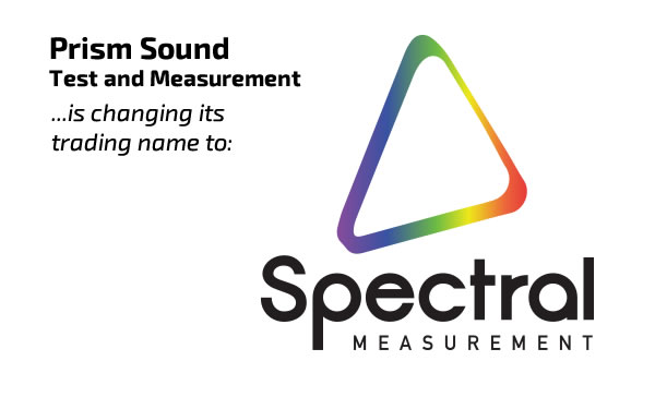 Test & Measurement Flies Solo as Spectral Measurement; Recording & SADiE join the Audio Squadron