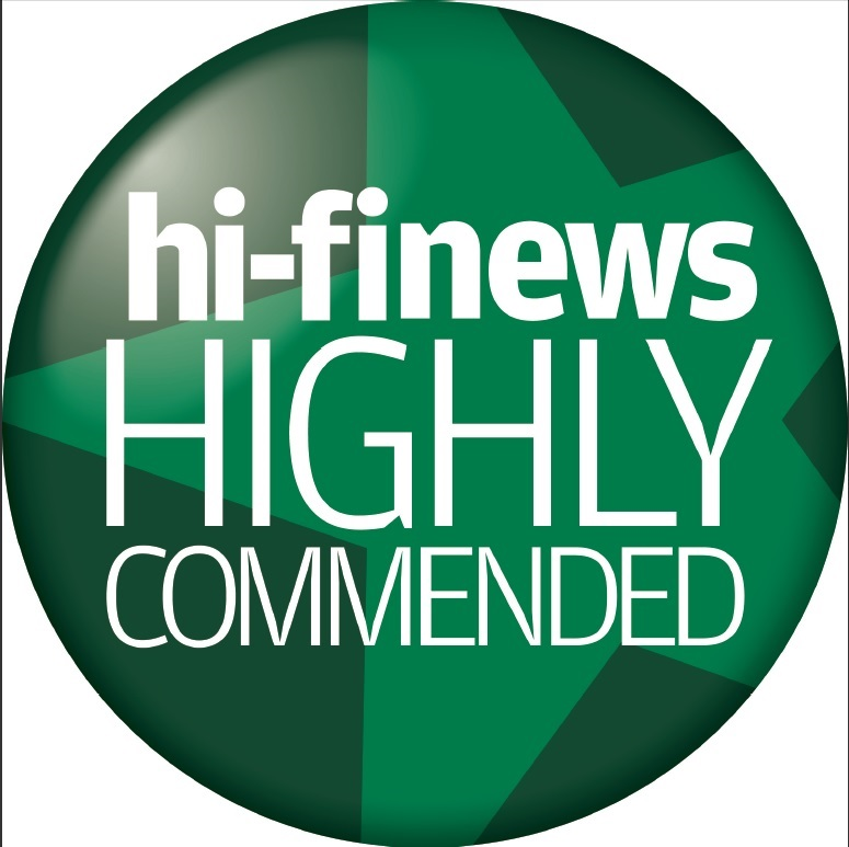 HiFi News Highly Commended logo