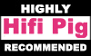 Hifi Pig Recommended logo