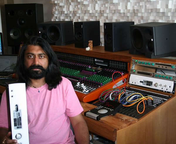 Prism Sound's Atlas Audio Interface Brings Harmony To Talvin Singh's Studio