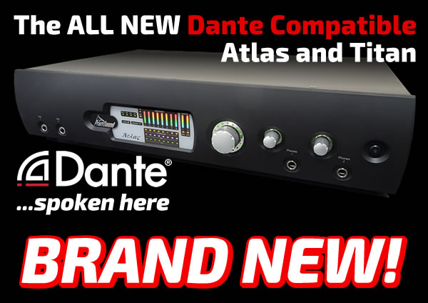 Prism Sound Updates Titan and Atlas Audio Interfaces With Dante® Networking